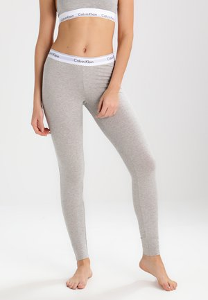 MODERN COTTON - Nachtwäsche Hose - grey heather