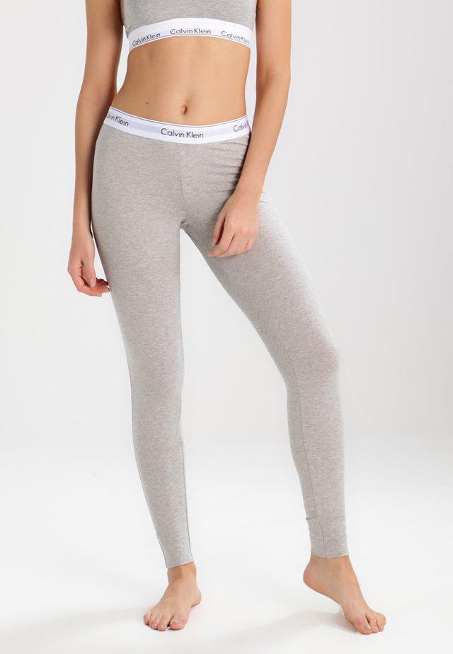 MODERN COTTON - Pyjama bottoms - grey heather