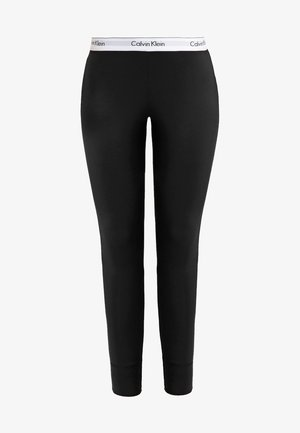 MODERN COTTON - Pyjama bottoms - black