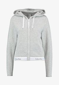 Calvin Klein Underwear - MODERN LOUNGE FULL ZIP HOODIE - Sudadera con cremallera - grey - 5