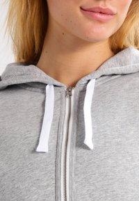 Calvin Klein Underwear - MODERN LOUNGE FULL ZIP HOODIE - Sudadera con cremallera - grey - 3