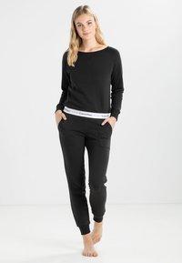 Calvin Klein Underwear - Pyjamabroek - black - 1