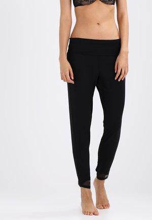 PANT - Nattøj bukser - black