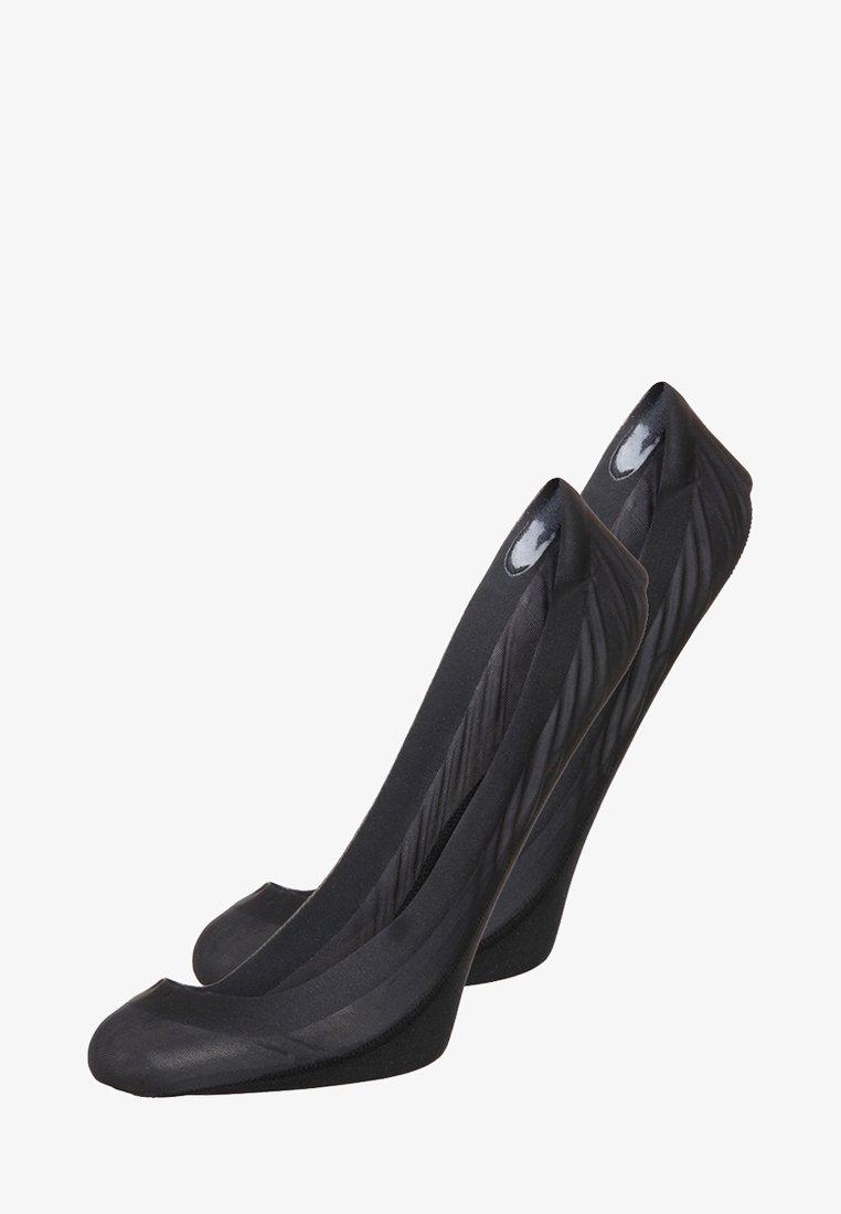 Calvin Klein Underwear - 2 PACK - Füßlinge - black