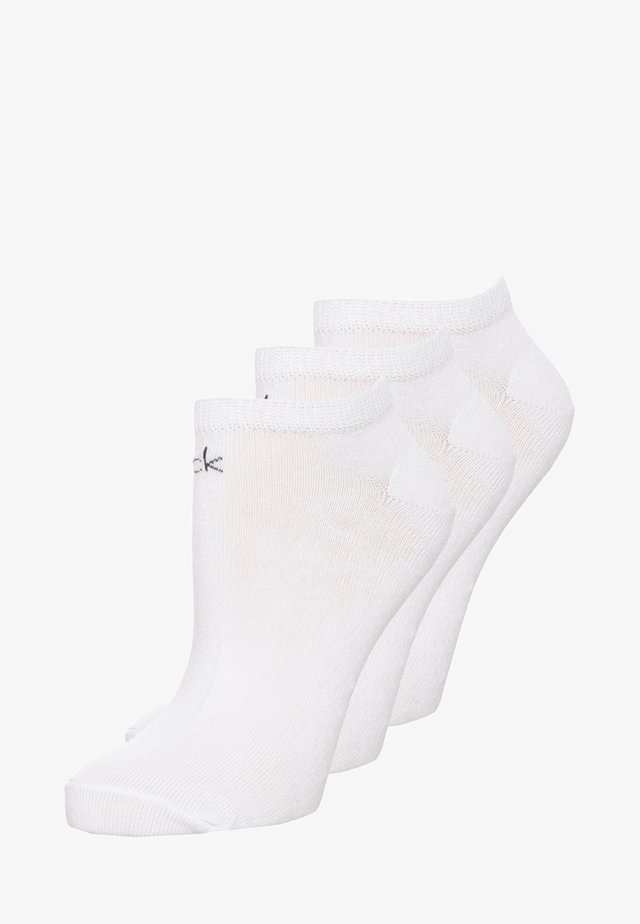 LOGO SNEAKER 3 PACK - Socken - white