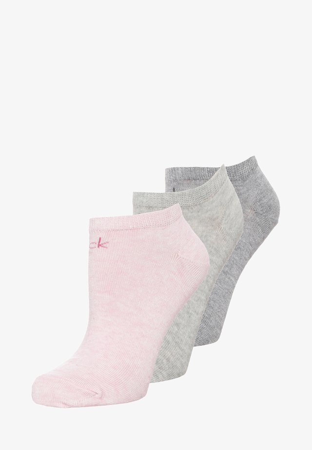 LOGO SNEAKER 3 PACK - Socks - mottled rose