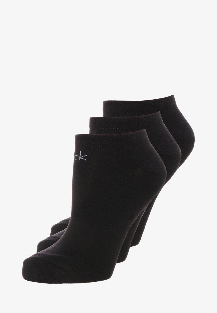 Calvin Klein Underwear - LOGO SNEAKER 3 PACK - Socks - black