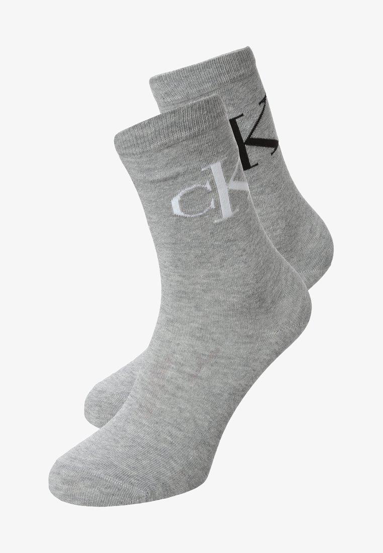 Calvin Klein Underwear - 2 PACK - Chaussettes - oxford melange
