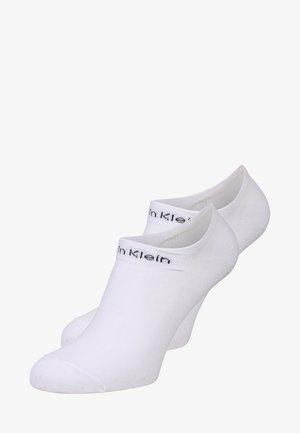 PERFORMANCE GRIPPER LINER 2 PACK - Ponožky - white