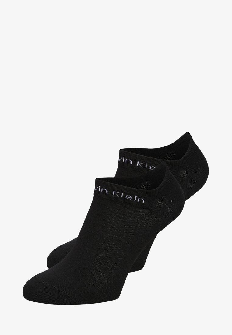 Calvin Klein Underwear - PERFORMANCE GRIPPER LINER 2 PACK - Socks - black