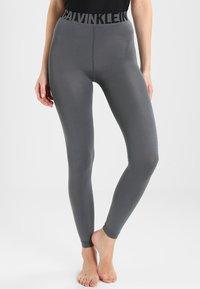 Calvin Klein Underwear - LISSY MODERN UNDERWEAR LOGO - Leggings - Stockings - storm - 0