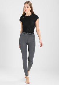 Calvin Klein Underwear - LISSY MODERN UNDERWEAR LOGO - Leggings - Stockings - storm - 1