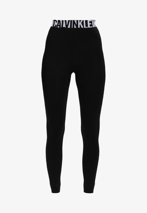 LISSY MODERN UNDERWEAR LOGO - Leggings - Stockings - black