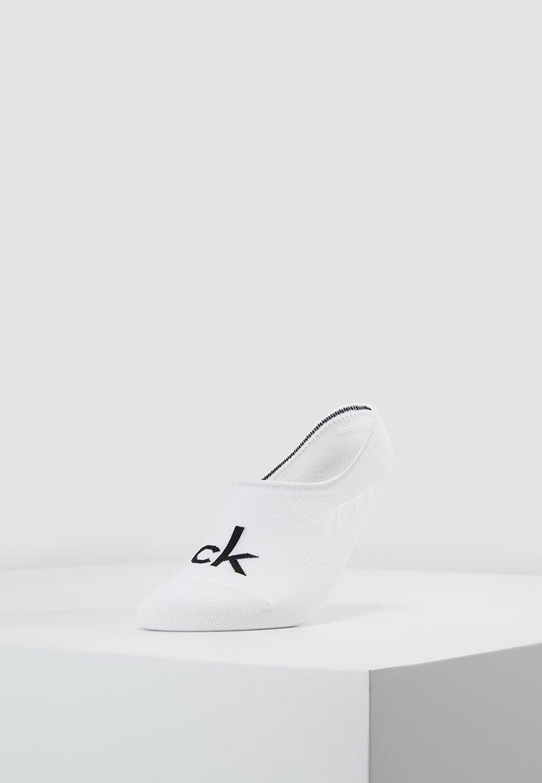 Calvin Klein Underwear - MODERN LOGO - Trainer socks - white