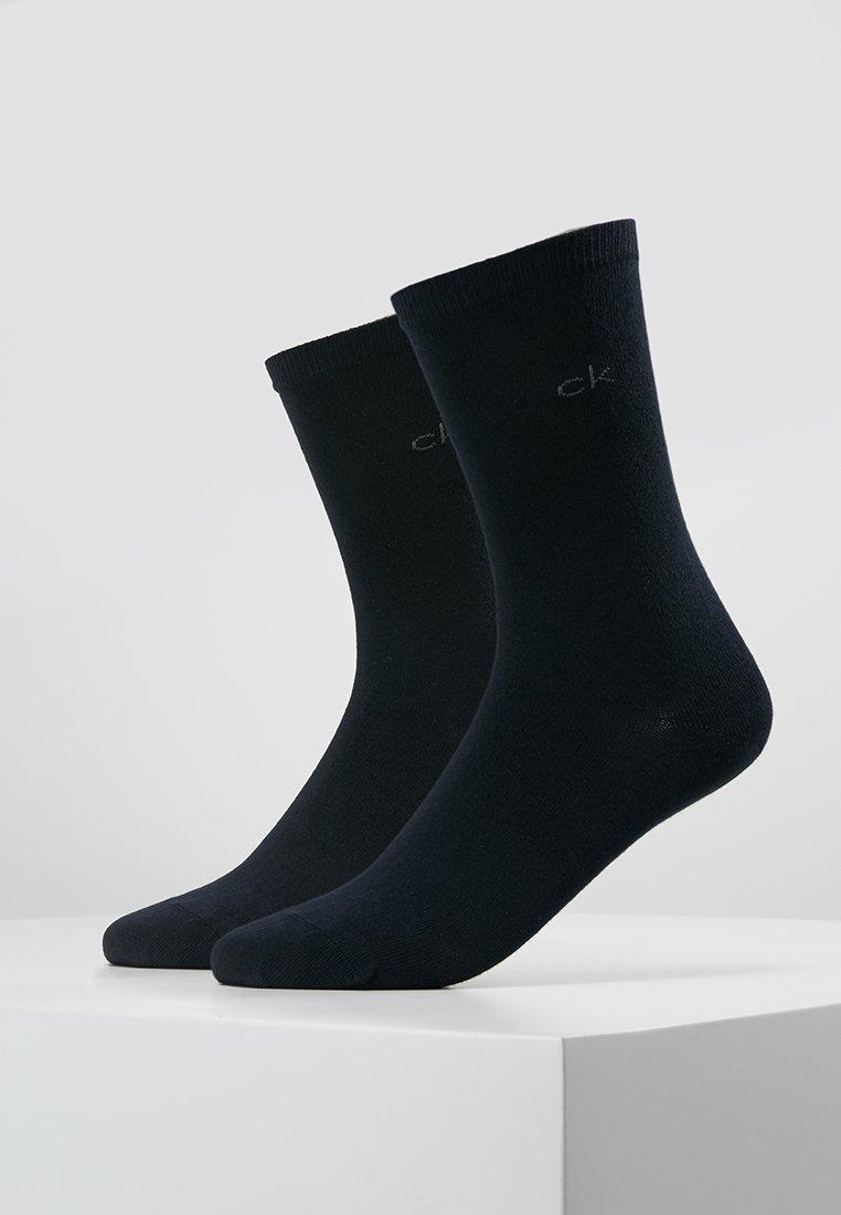 Calvin Klein Underwear - CREW  2 PACK  - Strømper - navy