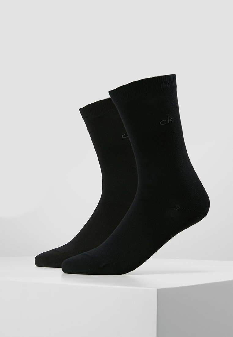Calvin Klein Underwear - CREW  2 PACK  - Socks - black