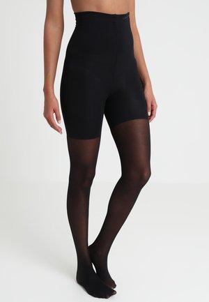 HIGH WAIST SHAPER TIGHT - Collants - black
