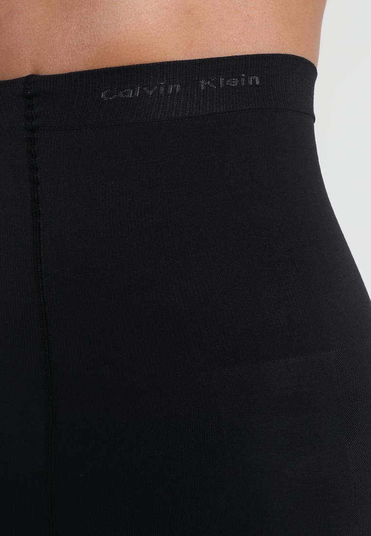 Calvin Klein Underwear - HIGH WAIST SHAPER TIGHT - Strømpebukser - black