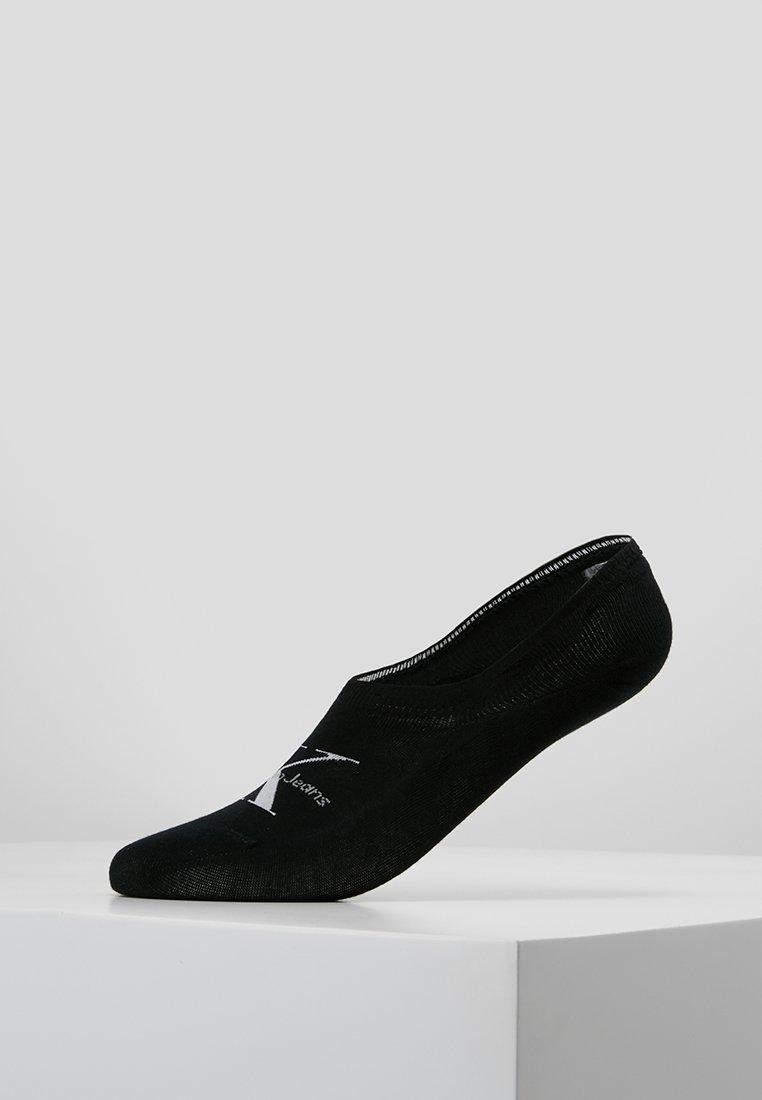 Calvin Klein Underwear - LOGO  - Trainer socks - black