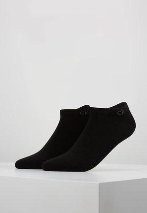 FLAT 2 PACK - Socks - black