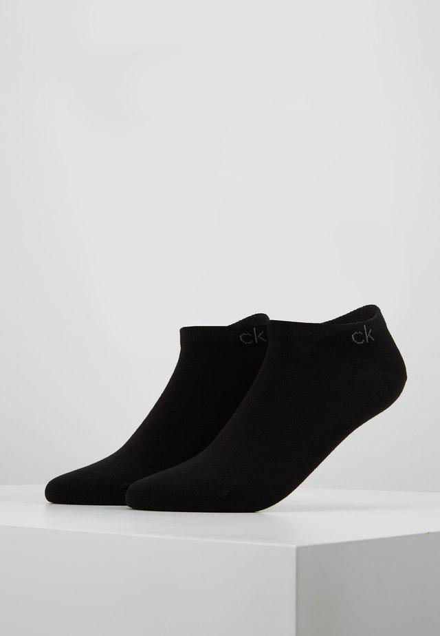 FLAT 2 PACK - Sokken - black