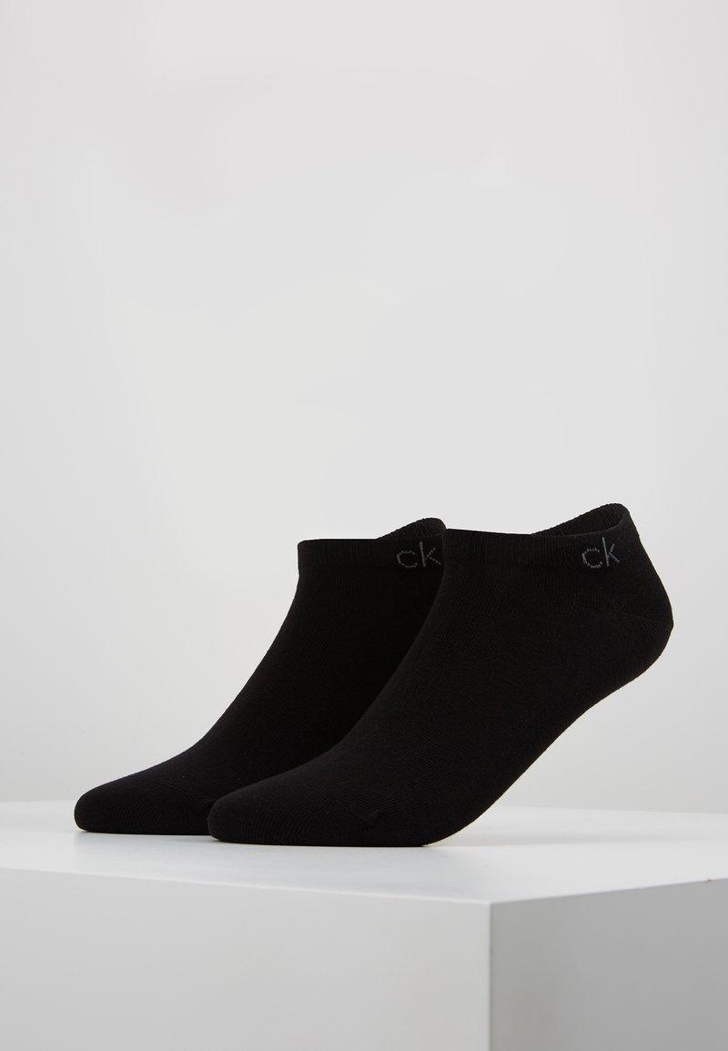 Calvin Klein Underwear - FLAT 2 PACK - Strømper - black