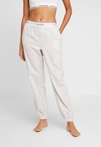 Calvin Klein Underwear - Pyjamasbukse - snow heather - 0