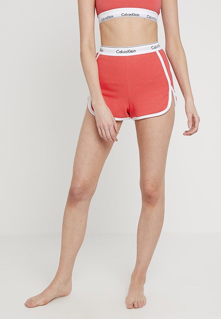 Calvin Klein Underwear - SLEEP SHORT - Nachtwäsche Hose - fire