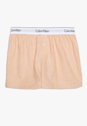 SLEEP SHORT - Pantalón de pijama - grapefruit heather