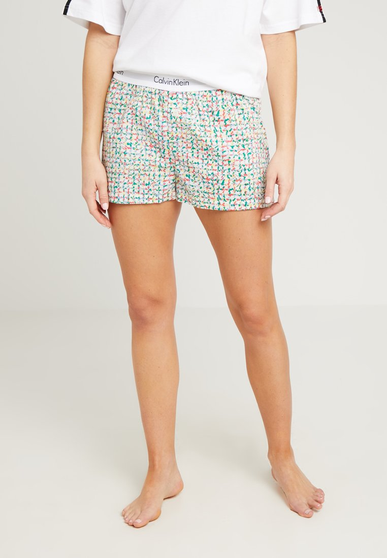 Calvin Klein Underwear - SLEEP SHORT - Pyjama bottoms - multi-coloured