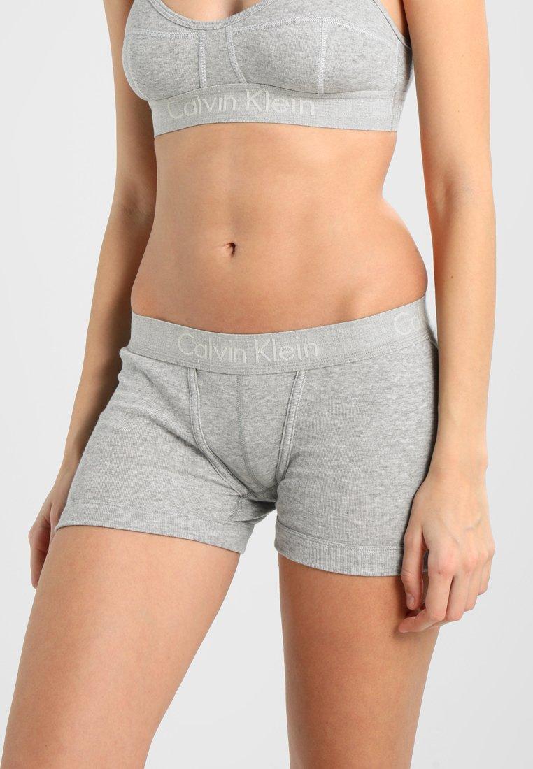 Calvin Klein Underwear - BOYSHORT - Panties - grey
