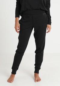 Calvin Klein Underwear - JOGGER - Pyjamabroek - black - 0