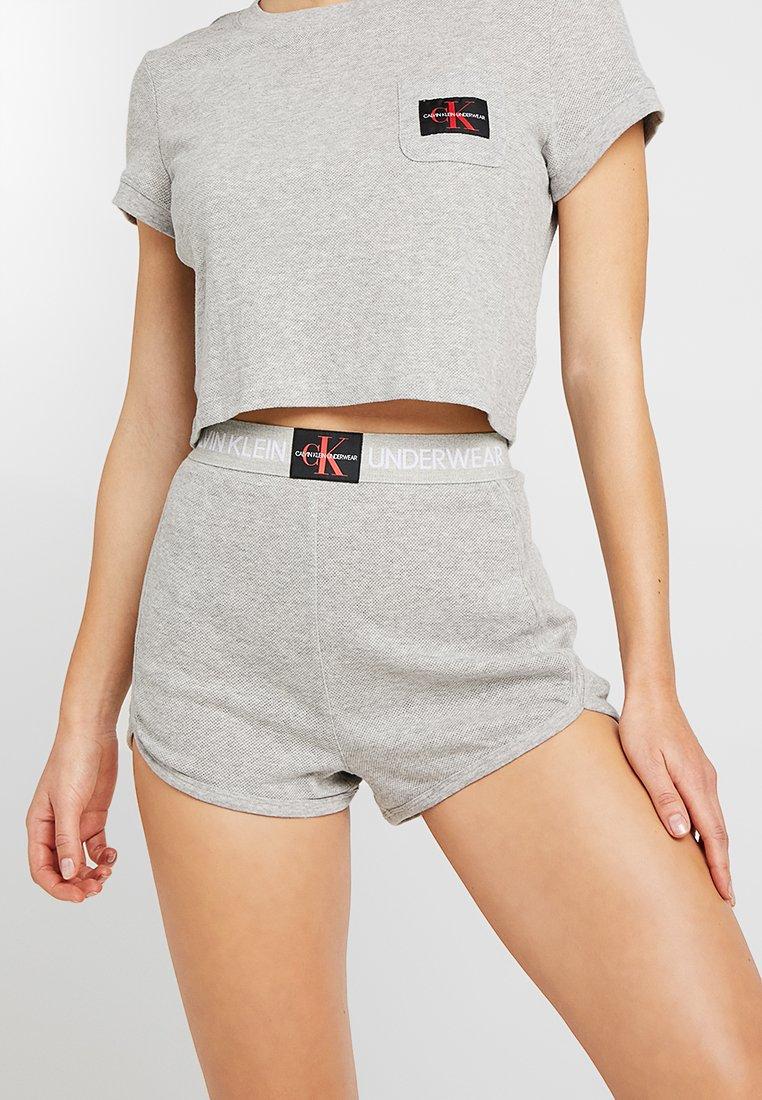 Calvin Klein Underwear - MONOGRAM SLEEP - Nachtwäsche Hose - grey heather
