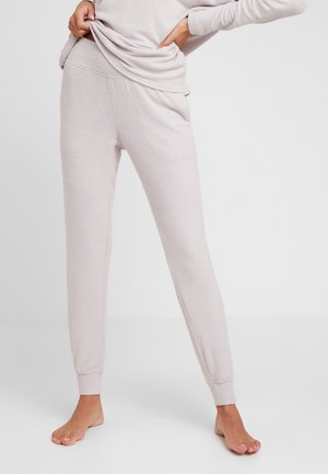 TEXTURED JOGGER - Pantaloni del pigiama - gray lavendar hecci