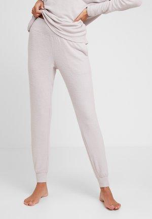 TEXTURED JOGGER - Pyjamabroek - gray lavendar hecci