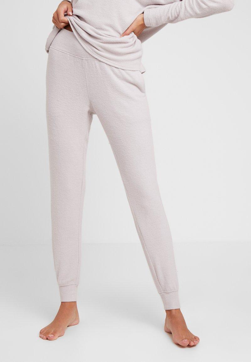 Calvin Klein Underwear - TEXTURED JOGGER - Pyjamahousut/-shortsit - gray lavendar hecci