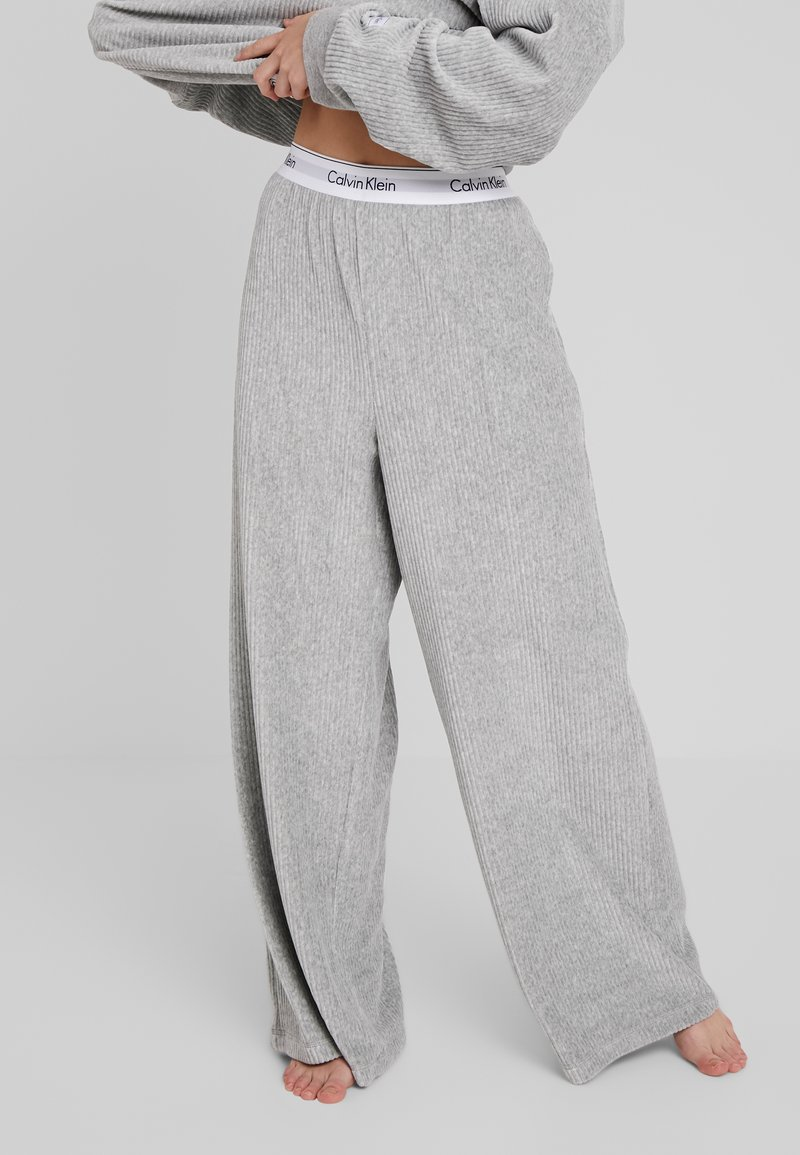 Calvin Klein Underwear - SLEEP PANT - Pyjamasbukse - grey heather
