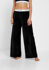 Calvin Klein Underwear - SLEEP PANT - Nattøj bukser - black - 0