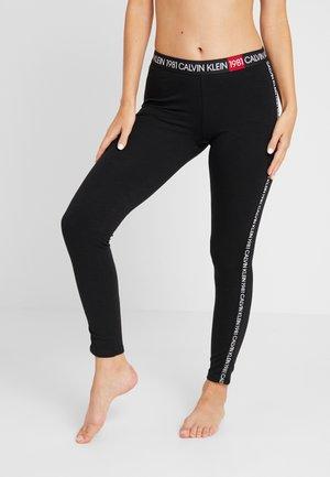 1981 BOLD LOUNGE LEGGING - Pyjamasbukse - black