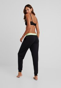 Calvin Klein Underwear - NEON LOUNGE - Pyjamasbukse - black - 2