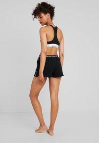 Calvin Klein Underwear - BOLD LOUNGE SLEEP SHORT - Nattøj bukser - black - 2