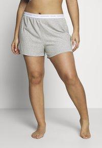Calvin Klein Underwear - ONE LOUNGE SLEEP SHORT - Pyjamabroek - grey heather - 0