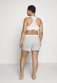 Calvin Klein Underwear - ONE LOUNGE SLEEP SHORT - Pyjamabroek - grey heather - 2