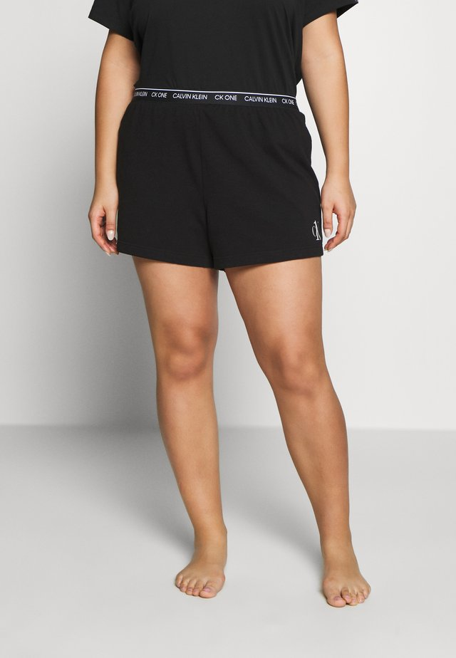 ONE LOUNGE SLEEP SHORT - Pyjama bottoms - black