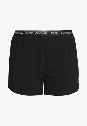 ONE LOUNGE SLEEP SHORT - Pyjamabroek - black