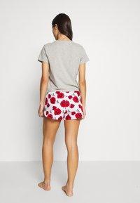 Calvin Klein Underwear - SLEEP SHORT - Pyjamabroek - american dreams - 2