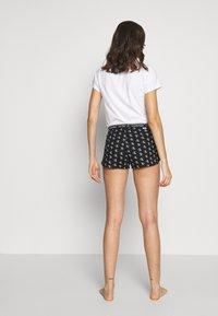 Calvin Klein Underwear - CK ONE WOVENS COTTON SLEEP SHORT - Pyjama bottoms - black - 2