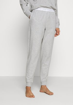 ONE LOUNGE - Pyjamasbukse - grey heather