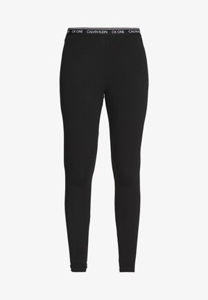 CK ONE LOUNGE JERSEY LEGGING - Pyjamabroek - black
