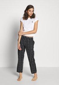 Calvin Klein Underwear - CK ONE WOVENS COTTON SLEEP PANT - Pyjamabroek - black - 1